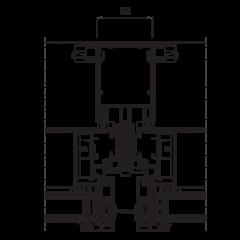 Fasáda SST 52, rez